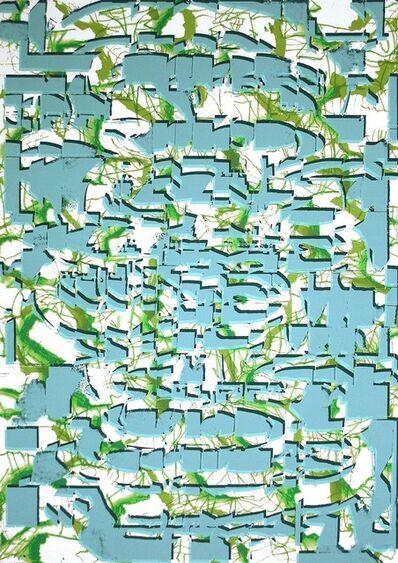 Luis Gordillo, 'Arquitecturas leves V (Light Architectures V)', 2009