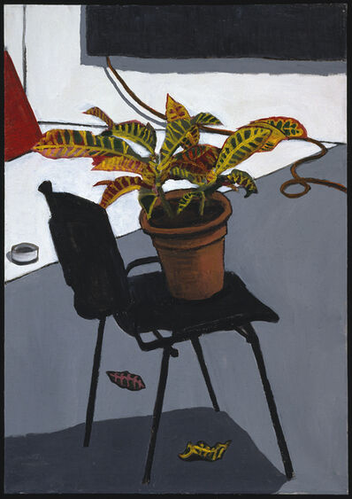 David Reeb, 'Chair with plant', 2005