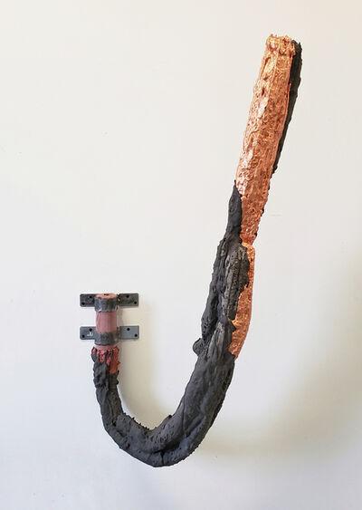 Lucas Simões, 'Darkness glossed over the imbalances ~ encher-se de açúar e Tua boca dura e escancarada transformar-se num pomo maduro', 2019