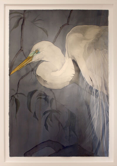 Heather Lancaster, 'Great White Egret', 2017