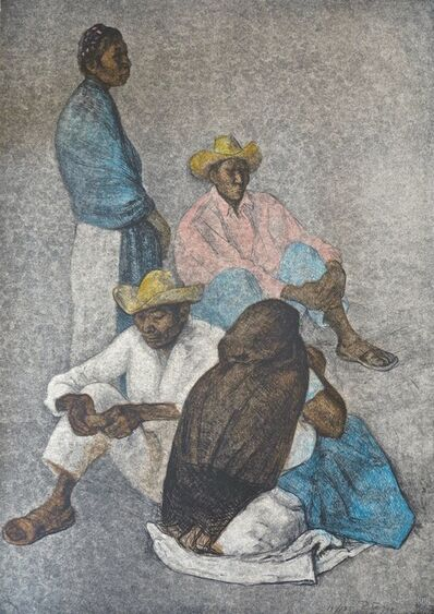 Francisco Zúñiga, 'Campesinos', 1980