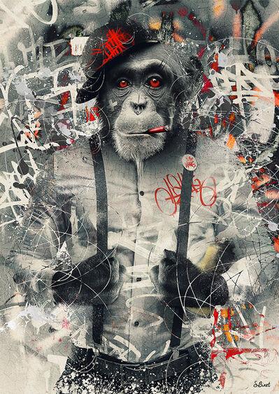 Sylvain Binet, 'Urban Monkey', 2019