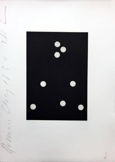 Donald Sultan, 'Dominoes #19', 1990