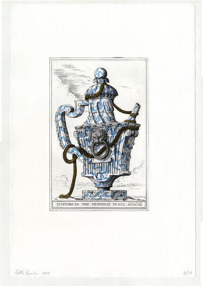Pablo Bronstein, 'Cafetiere in the Piranesi Taste (Veined Marble)', 2011