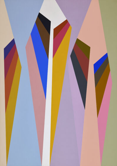 Karl Benjamin, '#4, 1988', 1988