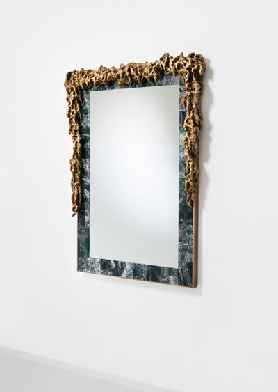 Mattia Bonetti, 'Mirror 'Rock Crystal: Emerald' ', 2016