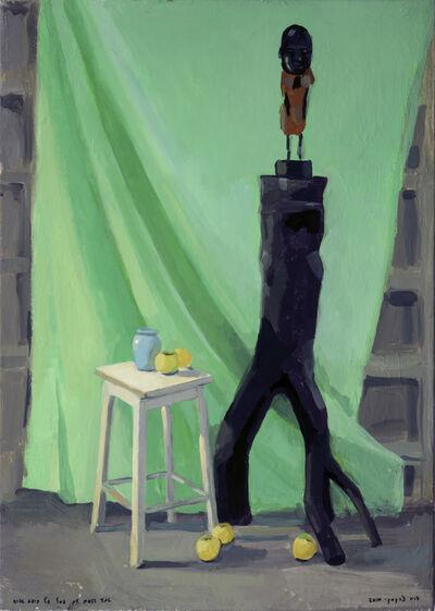 Zoya Cherkassky-Nnadi, 'Still Life with Boaz Arad's Sculpture', 2010