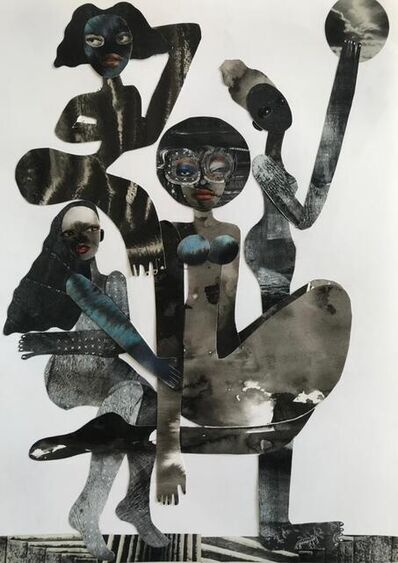 Gherdai Hassell, 'Walking our boundaries', 2021