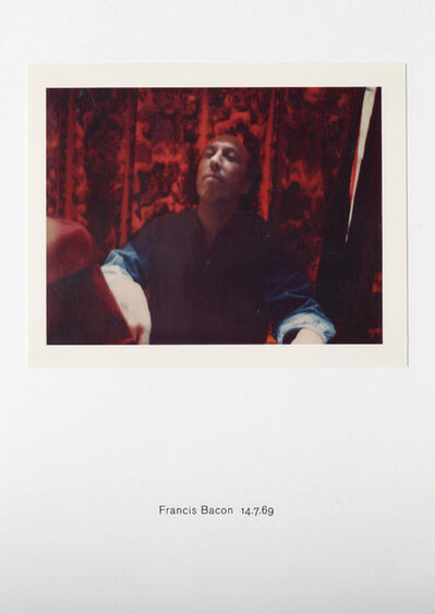 Richard Hamilton, 'Polaroid Portrait, Francis Bacon 14.7.69', 2010
