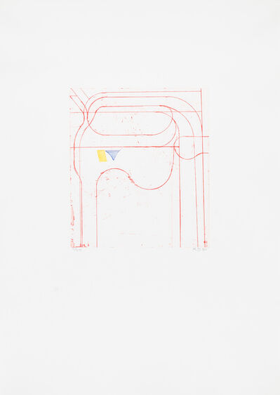 Frank Stella, 'Construct (Red)', 1980