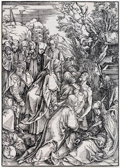 Albrecht Dürer, 'The Deposition', 1496-1497