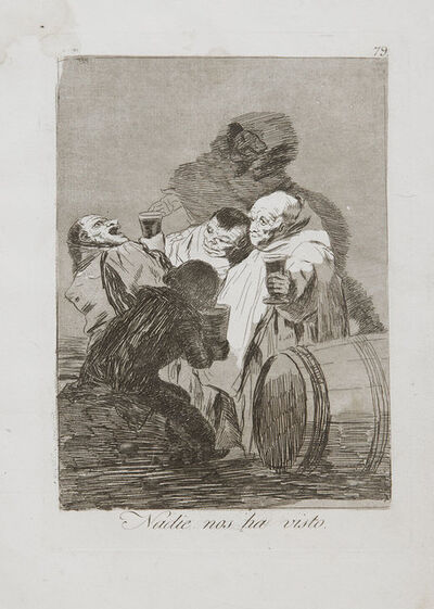 Francisco de Goya, 'Nadie Nos Ha Visto', 1799