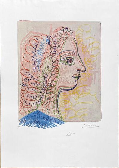 Pablo Picasso, 'Femme de profil', 1970