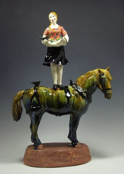 Sue Tirrell, 'Harvest Rider '