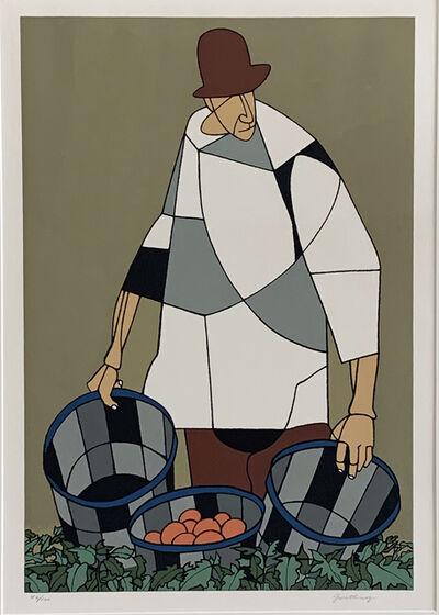 Robert Gwathmey, 'MIGRANT', 1978
