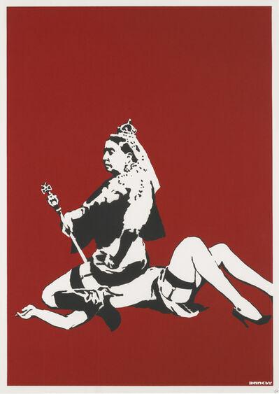 Banksy, 'Queen Victoria - Signed', 2003