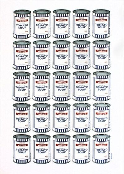 Banksy, 'Tesco Soup Cans', 2006