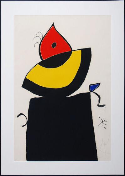 Joan Miró, '4 couleurs', 1975