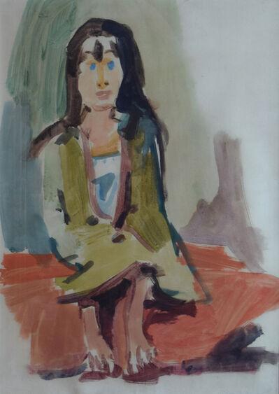 Oskar Kokoschka, 'Gypsy Girl', 1921