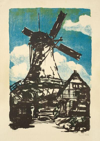 Emil Nolde, 'GROSSE MÜHLE', 1907