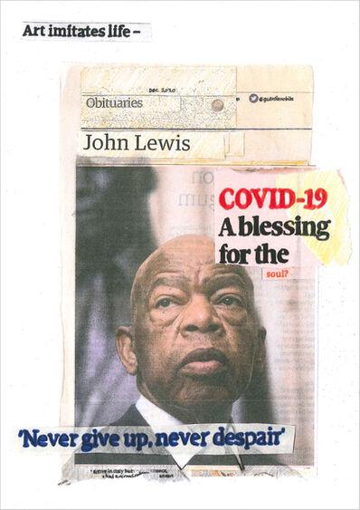 Hugh Mendes, 'John Lewis: Covid-19', 2020