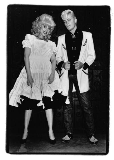 Amy Arbus, 'On the Street, Katy K and John Sex, NYC, 1981', 1981