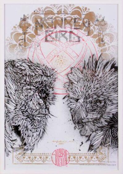 Monkey Bird, 'Singerie oisive', 2014