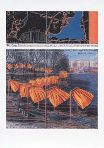 Christo, 'The Gates (m)', 2003