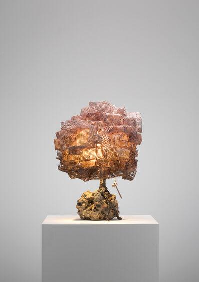 Nacho Carbonell, 'Pink Cubes Concrete Base (128_2019)', 2019