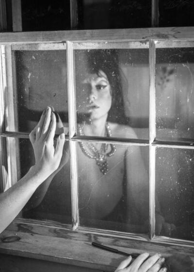 Bryson Rand, 'Kotek Looking at Her Reflection (Skowhegan)', 2019