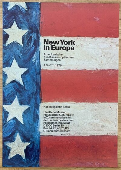 Jasper Johns, 'Original Vintage Exhibition Poster', 1976