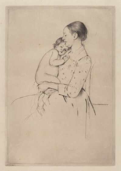 Mary Cassatt, 'Quietude', ca. 1891