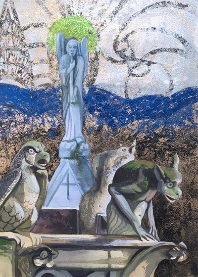 Thomas John Carlson, 'Notre Dame Roof', 2018