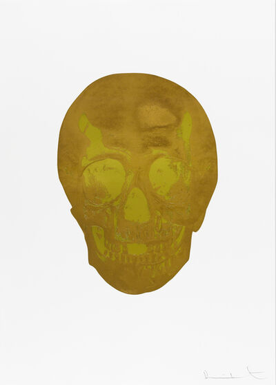 Damien Hirst, 'Death Or Glory European Gold/Oriental Gold Glorious Skull ', 2011