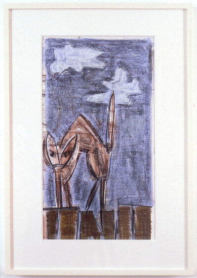 Michael Hurson, 'Untitled Drawing (Cat)', 1989