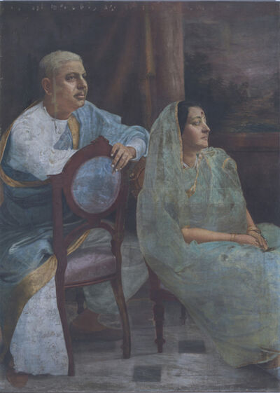 Hemen Majumdar, 'Untitled (Couple)', NA