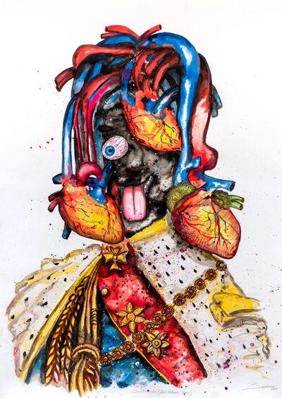 Steve Bandoma, 'Roi émotif', 2018