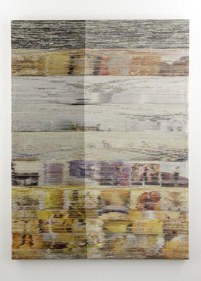 Margo Wolowiec, 'Purple Yellow White II', 2014