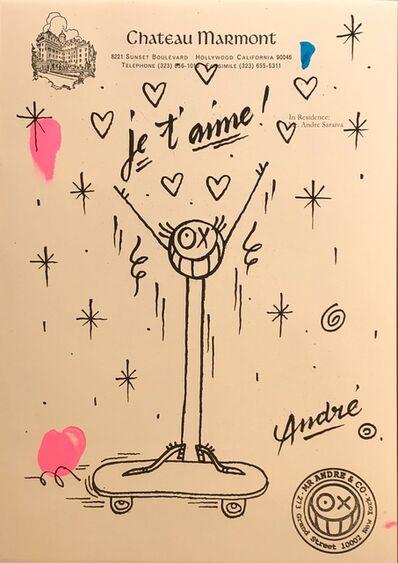 André Saraiva, 'Je t'aime', 2018