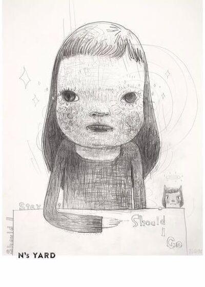 Yoshitomo Nara, 'N's YARD Poster - Should I go? (B3 Size)', ca. 2020