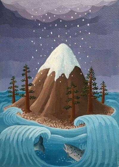 Amy Lincoln, 'Mountain Island', 2017