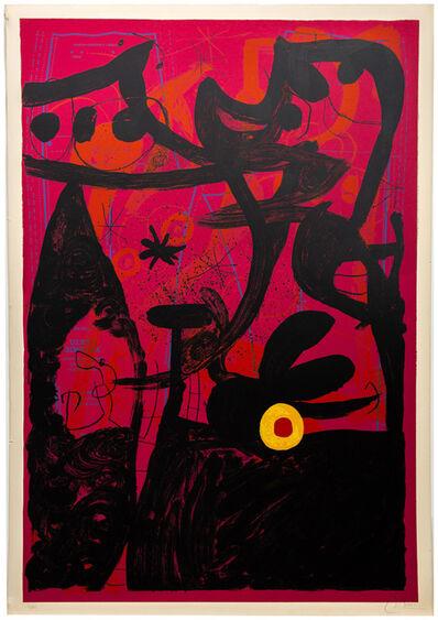 Joan Miró, 'Defile de Mannequins a Istanbul', 1969