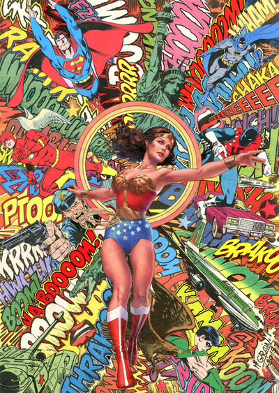 Mr Garcin, 'Wonder Woman', 2016