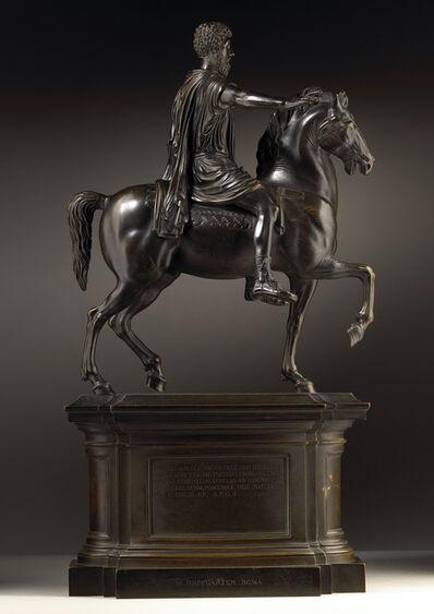 Wilhelm Hopfgarten, 'Equestrian Monument of Emperor Marcus Aurelius, After the Antique '