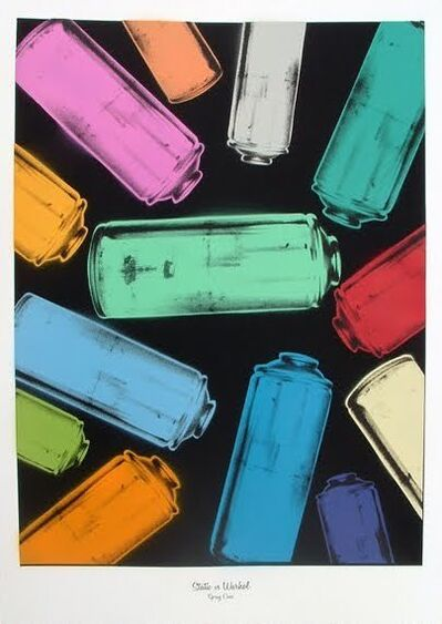 STATIC, 'Static vs Warhol 'Spray cans'', 2010