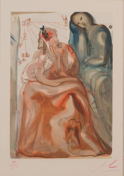 Salvador Dalí, 'La Divine Comédie: Purgatory Canto 31 - La Confession de Dante (Prestel 1103)', 1960