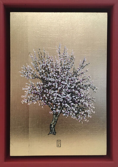 Jack Frame, 'Blooming Collection : White Blossom in Red Frame ', 2018