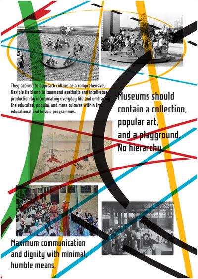 Celine Condorelli, 'Study for Playgrounds (Lina Bo Bardi, first proposal for a Museu de Arte de Sao Paolo, 1965)', 2017