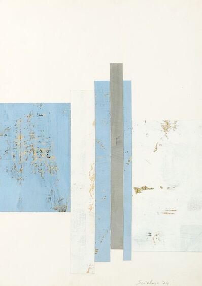 Toti Scialoja, 'Collage', 1974