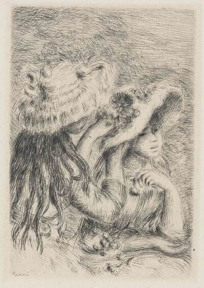 Pierre-Auguste Renoir, 'Le Chapeau Epingle (3E Planche) (Delteil, Stella 8)', 1894